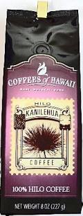 【在庫限り・無くなり次第販売終了】COFFEES of HAWAII・100%HILO/ 100%ヒロコーヒー