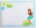 【ハワイアン雑貨・最安値を目指します】ハワイアンスティックノート/フラモンステラ