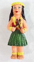 【ハワイアン雑貨・最安値を目指します】ハワイアンマグネット/フラガール40075