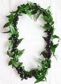 【ハワイアン雑貨・最安値を目指します】ククイナッツレイ/ブラックククイ・マイレMaile19203