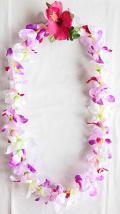 【ハワイアン雑貨・最安値を目指します】ハワイアンレイ/オーキッド Orchid14280