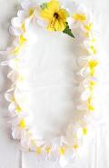 【ハワイアン雑貨・最安値を目指します】ハワイアンレイ/プルメリアW14800