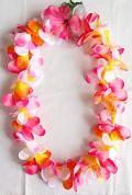 【ハワイアン雑貨・最安値を目指します】ハワイアンレイ/プルメリアPYW14800