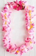 【ハワイアン雑貨・最安値を目指します】ハワイアンレイ/プルメリアP14800