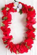 【ハワイアン雑貨・最安値を目指します】ハワイアンレイ/ハイビスカスR14855