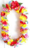 【ハワイアン雑貨・最安値を目指します】ハワイアンレイ/ハイビスカスMIX14855