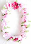【ハワイアン雑貨・最安値を目指します】ハワイアンレイ/ハイビスカスP14855