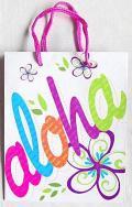 【ハワイアン雑貨・最安値を目指します】ハワイアン・ギフトバッグ・紙袋/アロハM