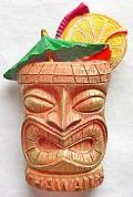 【ハワイアン雑貨・最安値を目指します】ハワイアンマグネット/TIKIバー