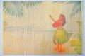 【ハワイアン雑貨・最安値を目指します】ハワイアン・バンブーランチョンマット/フラダンス