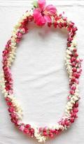 【ハワイアン雑貨・最安値を目指します】ハワイアンレイ/ピカケローズ Pikake ・Rose13101
