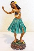 【ハワイアン雑貨・最安値を目指します】ハワイアンフラガール人形/ダンシングG40621