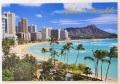 ハワイアン・ポストカード/ALOHA WAIKIKI