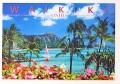 ハワイアン・ポストカード/WAIKIKI OAHU