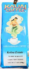 カウアイコーヒー100% / コロアエステート・粉タイプ7oz(198g)