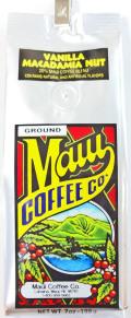 マウイコーヒーカンパニー/バニラマカダミア・20%マウイコーヒー/粉タイプ7oz(198g)