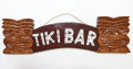 【現品限り】ハワイアン看板・ウッドプレート/TIKIBAR