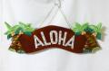 【1点商品】ハワイアン看板/壁掛け/椰子の木