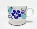 ハワイアンマグカップ/ハイビホヌ/ブルー