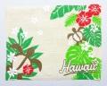 ハワイアンマナ・ランチョンマット/モンステラホヌ