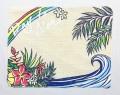 ハワイアンマナ・ランチョンマット/ウェーブ