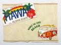 ハワイアンマナ・ランチョンマット/サーフバス