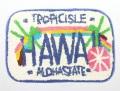 ハワイアンマット/ナンバープレート