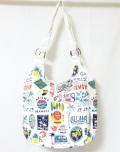 ハワイアンヴィンテージバッグ/ホワイト