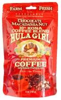 フラガールコーヒー/チョコマカダミア(ジップロックタイプ)/粉タイプ(142g)