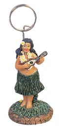 ハワイアンフォト・カードホルダー/ウクレレ