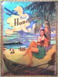 【円高還元SALE】ハワイアン看板/Honolulu