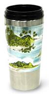 ハワイアン・ステンレスタンブラー16oz(椰子の木)