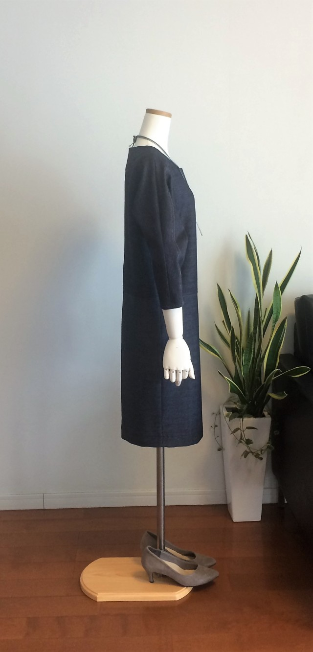身長150cm前後のSサイズさんの型紙&洋服ショップminimumです。手作り感を感じさせない洗練されたデザインです