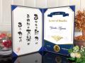 名言付インテリア表彰状【賞状・卒業証書などにも】 | 洋風