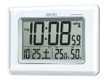 SEIKO 温度・湿度表示付デジタル電波時計(掛置兼用) No.50