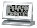SEIKO 夜でも見えるデジタル電波時計 No.50