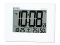 SEIKO 温度・湿度表示付デジタル電波時計(掛置兼用) No.35
