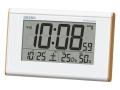 SEIKO 温度・湿度表示付デジタル電波時計 No.50
