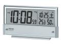 SEIKO 温度・湿度表示付デジタル電波時計 No.70