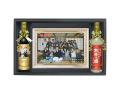 名入れワイン2本&パズルセット・紙袋付 | 退職祝い・昇進祝い専用記念品