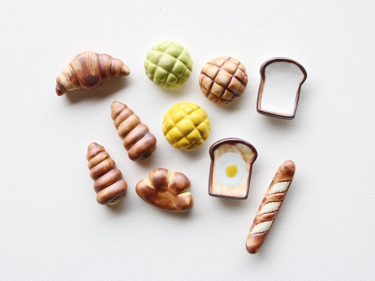 パン 箸置き 有田焼