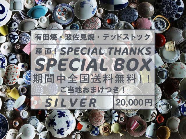 【送料無料・おまけつき】秋のweb陶器市・銀のSPECIAL BOX