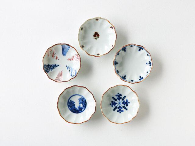 菊型小皿 波佐見焼