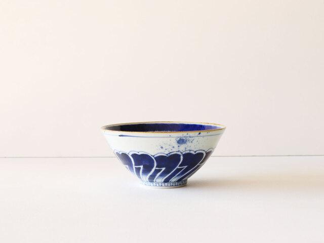 染付 花弁紋 麺鉢 有田焼