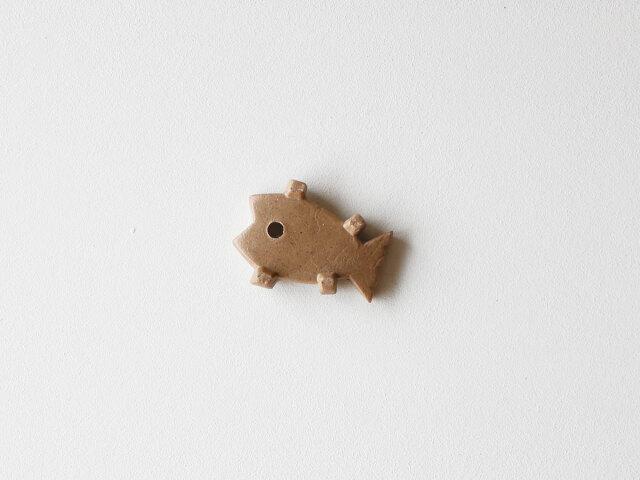 【デッドストック】古代文明っぽい箸置き 魚