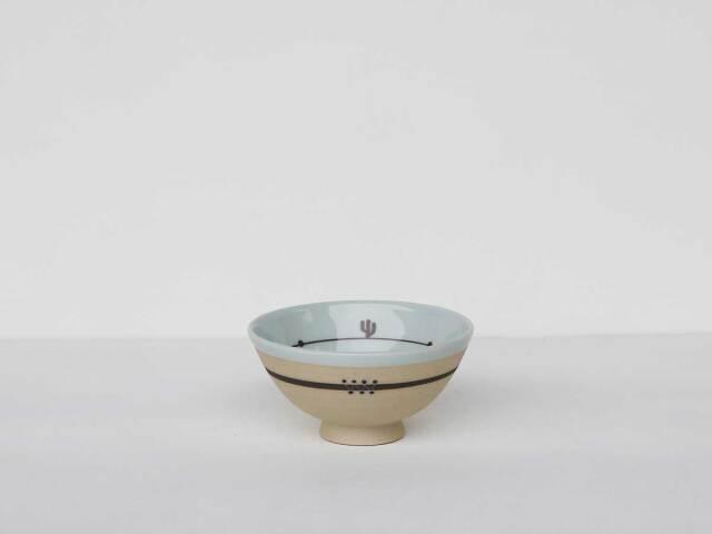 【デッドストック】倉庫から発掘されたサボテンのお茶碗・サンタフェ