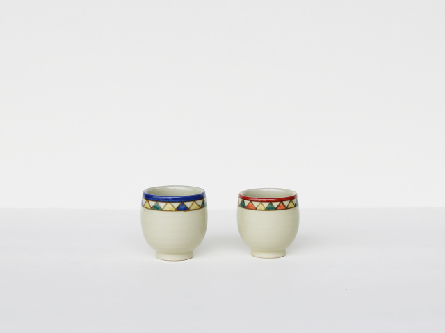 【デッドストック】インディアンサマー コップ(湯呑)波佐見焼