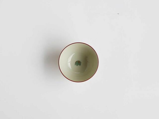 【デッドストック】倉庫から発掘された象のお茶碗・ZODA
