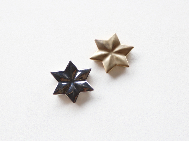 金 / 銀 麻の葉 箸置き 有田焼