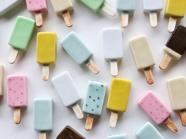 アイスクリーム 箸置き 有田焼